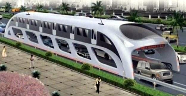 Czy tak będzie wyglądał transport przyszłości? /