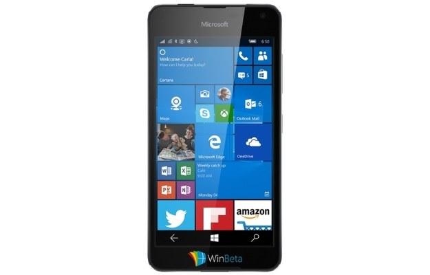 Czy tak wygląda Lumia 650? /materiały prasowe