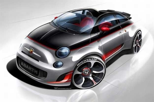 Czy tak wyglądać będzie małe coupe od Abartha? /