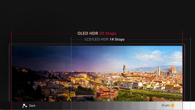 Czy technologia HDR rzeczywiście najlepiej sprawdza się na telewizorach OLED? /materiały prasowe