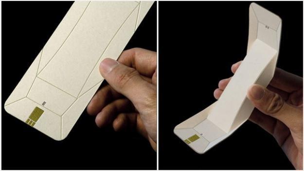 Czy telefon z papieru to dobry pomysł? /gizmodo.pl