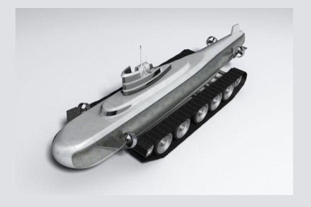 Czy to łódź podwodna, czy to czołg? /Gadżetomania.pl