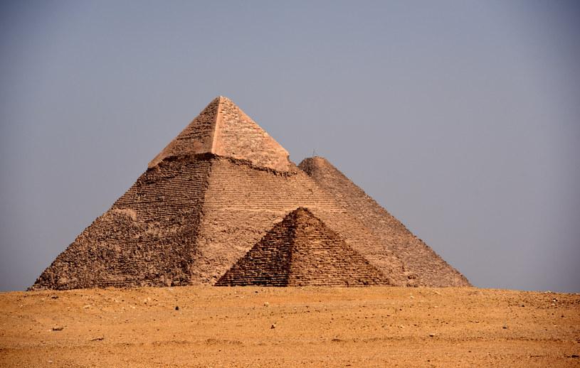 Czy to starożytni Egipcjanie zbudowali słynne piramidy? /AFP