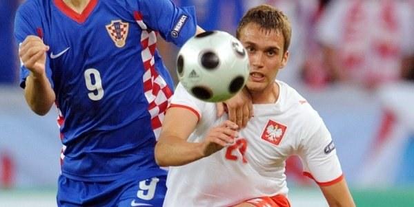 Czy to w meczu z Chorwacją Adam wywalczył sobie kontrakt w Torino? /AFP