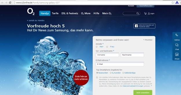 Czy to zapowiedź Samsunga Galaxy S5? /materiały prasowe