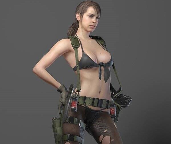 """Czy twórca Metal Gear Solid V rzeczywiście przesadził z """"uzbrojeniem"""" jednego z żołnierzy? a /materiały prasowe"""