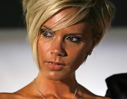 Czy Victoria Beckham zrobi karierę w UsA? /AFP