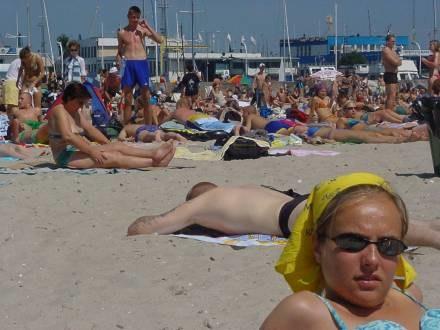 Czy w tym roku będzie się można opalać nad polskim morzem? /RMF