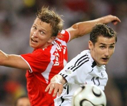 Czy wiślak ponownie zagra przeciwko niemieckiej kadrze? /AFP