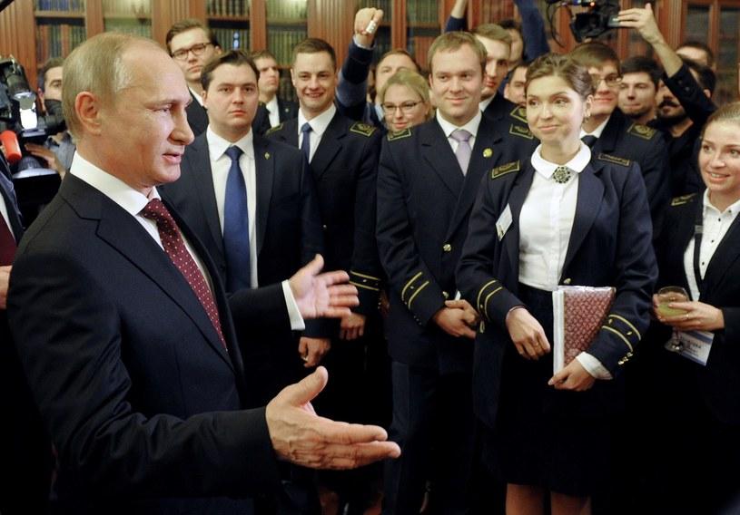 Czy Władimir Putin wstawi się za Swietłaną Dawydową? /AFP