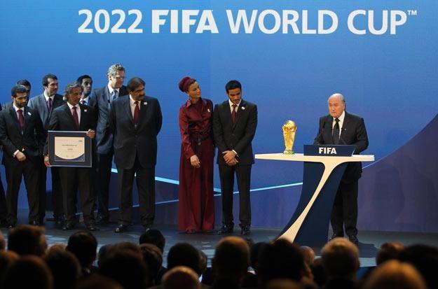 Czy wpływ na decyzje FIFA mogli mieć hakerzy /AFP