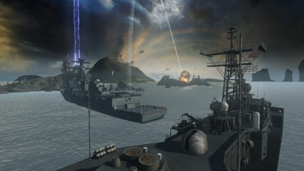 Czy wszystkie gry na licencji muszą być przeciętne? Battleship zdaje się potwierdzać tę regułę... /INTERIA.PL