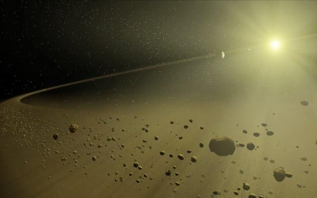 Czy za zmiany jasności KIC 8462852 może odpowiadać planeta podobna do Saturna? /materiały prasowe