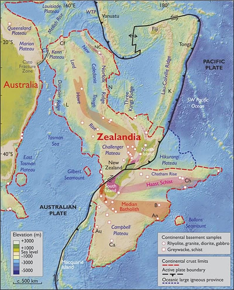 Czy Zelandia to nowy kontynent? /materiały prasowe