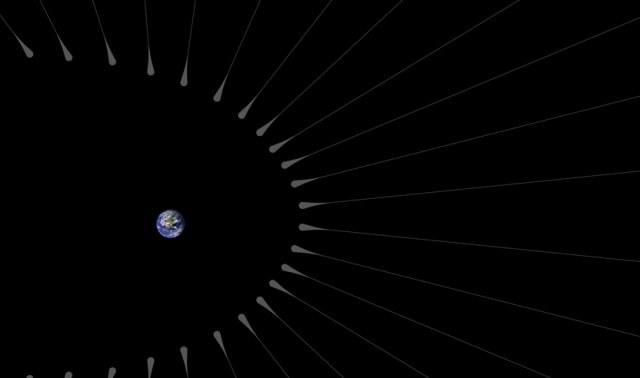 Czy Ziemię otaczają skupiska ciemnej materii? /materiały prasowe