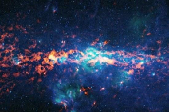 Czy związki podobne do prostych aminokwasów są powszechne w całym wszechświecie? /NASA