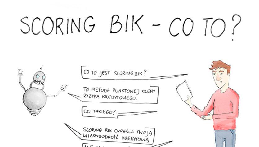 Czym jest scoring BIK? (infografika)