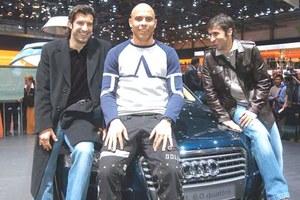 Czym jeżdżą piłkarze Realu  Madryt?