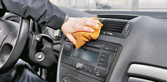 czyszczenie auta /Motor