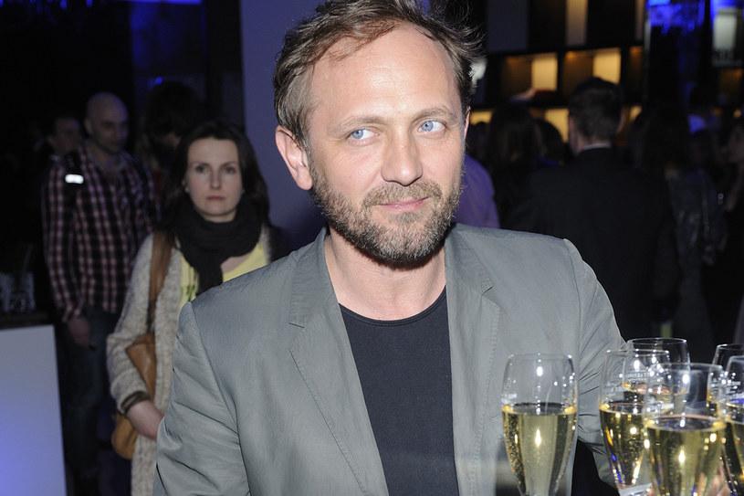 Czyżby aktor miał poważny problem...? /Jarosław Antoniak /MWMedia