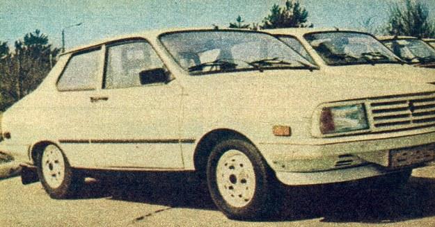 Dacia 1410 sport coupé. Pod przednim zderzakiem widoczny dodatkowy spolier. /Motor