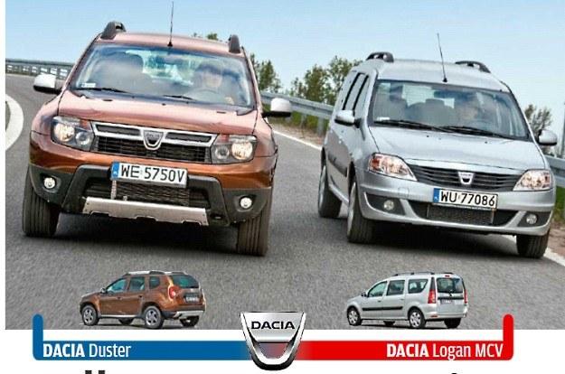 """Dacia duster czy dacia logan MCV? /tygodnik """"Motor"""""""
