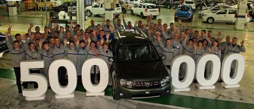 Dacia Duster nr 500 000 /Dacia