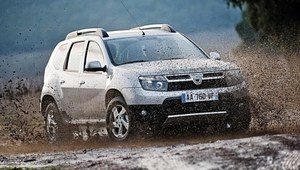Dacia Duster po faceliftingu w 2013 r.