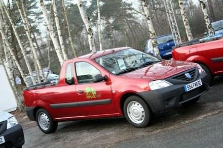 Dacia pick-up /INTERIA.PL