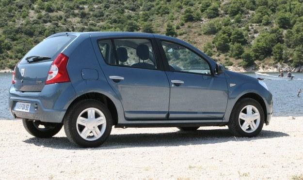 Dacia sandero /INTERIA.PL