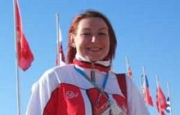 Dagmara Witos, brązowa mistrzyni XII Igrzysk Paraolimpijskich w Atenach /