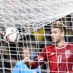 Dania - Polska. Nicklas Bendtner wróci do reprezentacji Danii