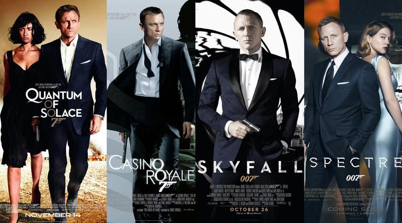 Daniel Craig: Cztery odsłony Jamesa Bonda /materiały dystrybutora