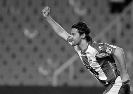 Daniel Jarque, kapitan Espanyolu zmarł na zawał serca. /AFP