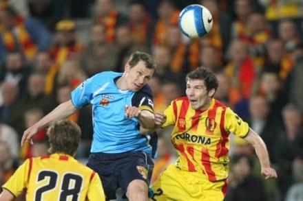 Daniel Kokosiński (Znicz; w niebieskiej koszulce), fot: Łukasz Grochala /Agencja Przegląd Sportowy