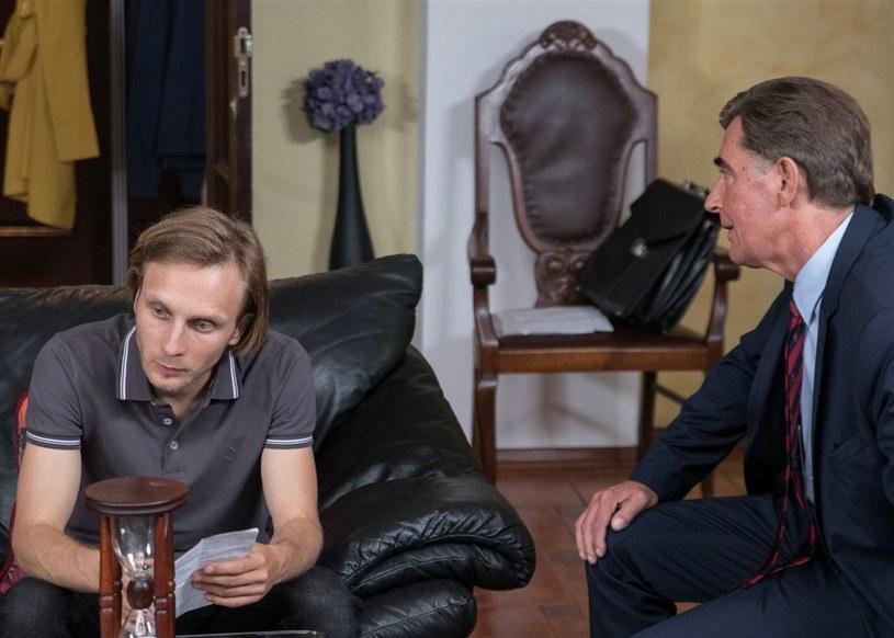 Daniel (Marek Kossakowski) i Feliks (Jan Piechociński) /Agencja W. Impact
