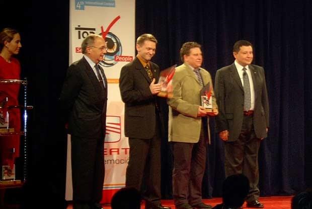 Daniel Mocny ( trzeci od prawej ) / kliknij /INTERIA.PL