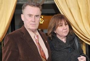 Daniel Olbrychski z żoną - Krystyną Demską /fot  /Agencja W. Impact