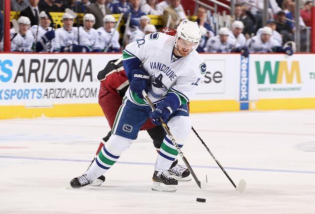 Daniel Sedin, gwiazda Vancouver Canucks /AFP