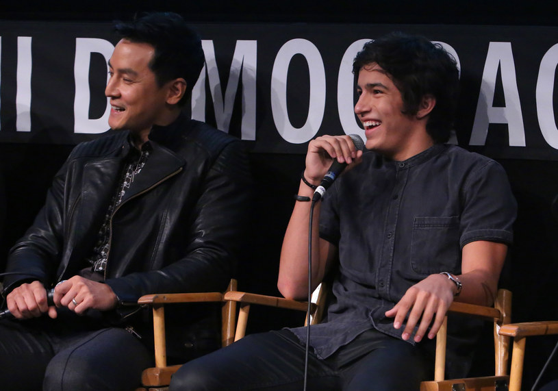 Daniel Wu oraz Aramis Knight /Jesse Grant /Getty Images