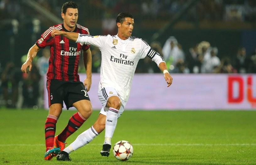 Daniele Bonera i Cristiano Ronaldo /AFP