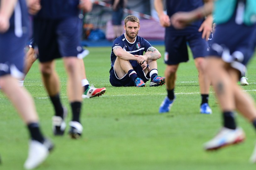 Daniele De Rossi, piłkarz reprezentacji Włoch /AFP