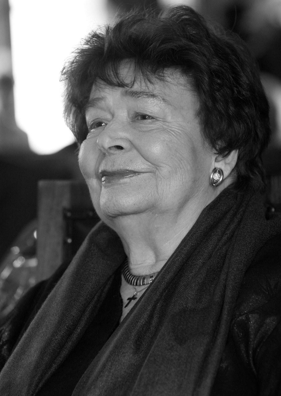 Danuta Michałowska zmarła w wieku 92 lat /Jacek Bednarczyk /PAP