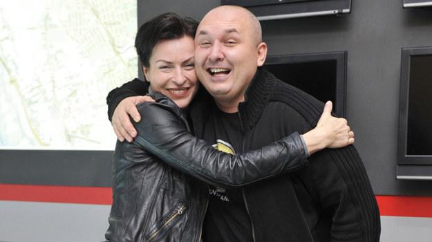 "Danuta Stenka, czyli serialowa Anna Oster i Patryk Vega, reżyser ""Instynktu"" /    /AKPA"