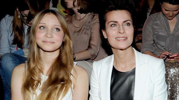 Danuta Stenka i jej córka, 14-letnia Wiktoria /Agencja W. Impact