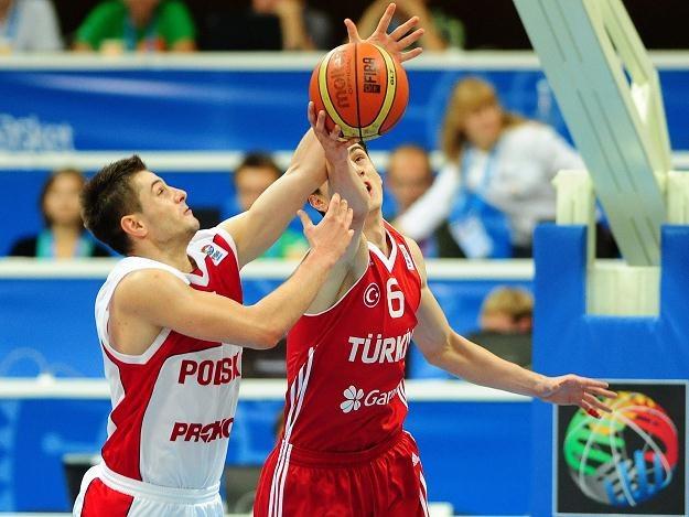 Dardan Berisha zdobył 21 punktów w meczu z Turcją /PAP/EPA