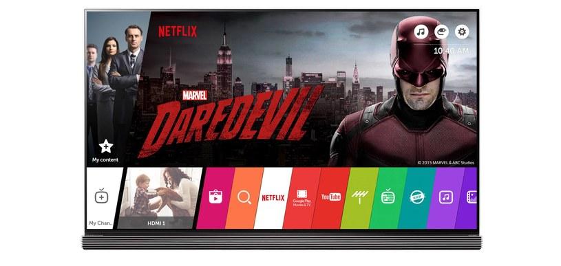 """""""Daredevil"""" - jeden z seriali dostępnych w ramach usługi Netflix /materiały prasowe"""