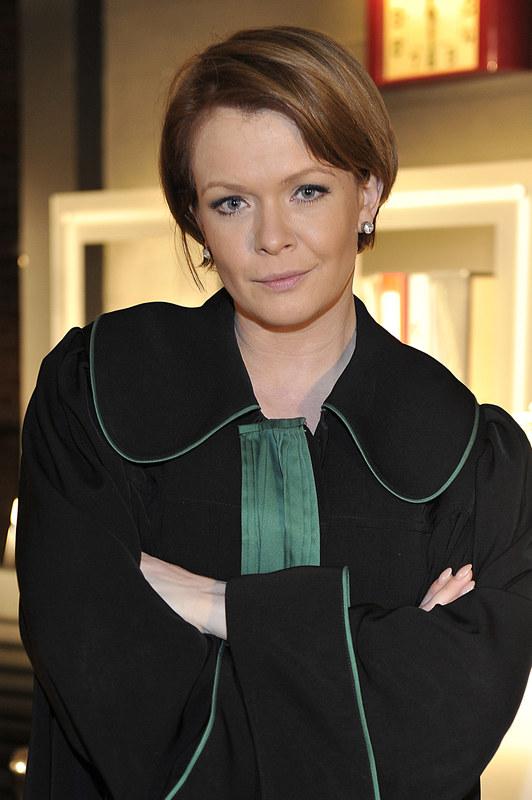 """Daria Widawska w serialu """"Prawo Agaty"""" /Niemiec /AKPA"""