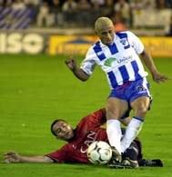 Dario Silva zapewnił zwycięstwo piłkarzom Malagi