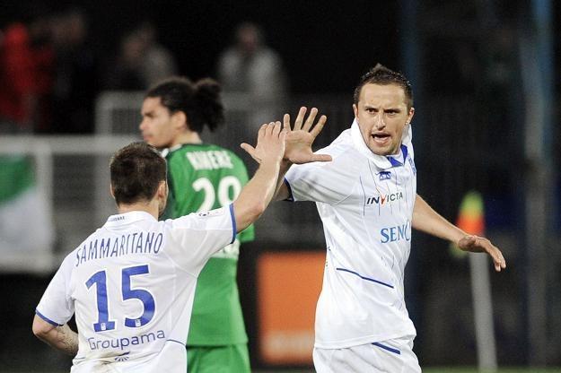 Dariusz Dudka, piłkarz Auxerre i reprezentacji Polski /AFP